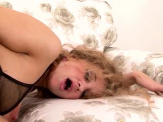 Grannie Vs big black cock - Amelie Matis Gets anal invasion