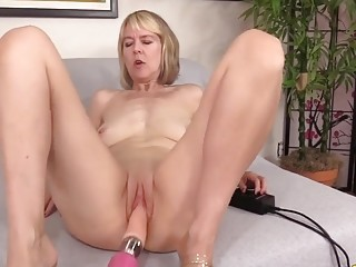 Golden Slut  Mature Women Getting Railed by Fucking Machines Compilation 1