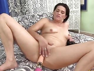 Golden Slut  Mature Women Getting Railed by Fucking Machines Compilation 2
