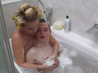 Relieve And Let mummy Wash The sloppy stud