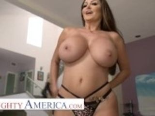 """""""Naughty America - Ava Addams comes home with fresh Lingerie"""""""