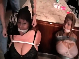 Brit domination & submission basement joy with cougar domme