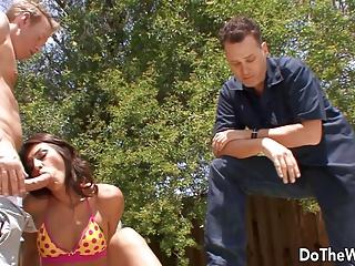 Super Hot latina wife cuckold