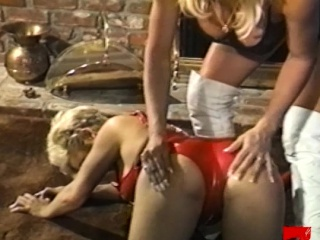 Super dykes roughen on touching their pussy coupled with irritant with toys