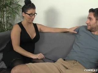 Cougar Wants To Test Rumors On His petite cum shot