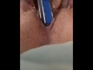 Screwing His devices with My naughty gash, Self enjoy