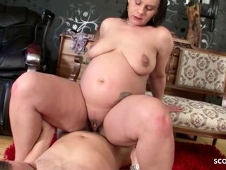 Preggo lengthy puss mother lure HER STEP sonny TO penetrate HER
