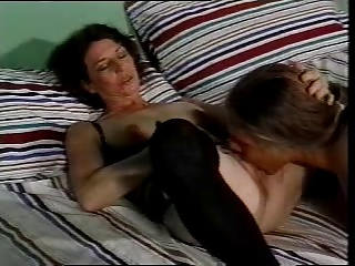 Young man fuck the mother of his friend