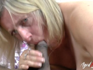 AgedLovE huge-titted platinum-blonde Mature multiracial Blowjob|4::Blowjob,16::Mature,24::multiracial,26::platinum-blonde,38::HD