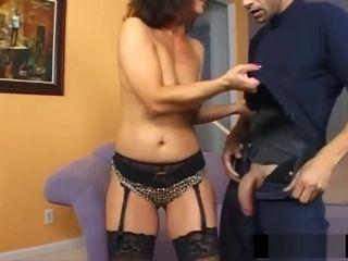 Latina cougar cuckold her spouse with a stranger