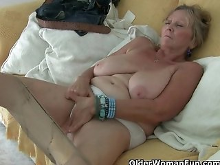 Grandma needs an orgasm right now!