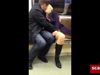 Public Metro onanism fellow frigs coochie Of nymph