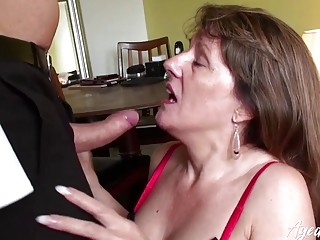AgedLove Businessmans big dick and Pandora
