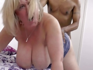 AgedLovE xxx bang-out with Mature globes Marie