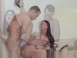 Sneaky cougar deep throats A immense stiffy - Brazzers
