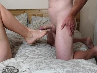 Purity unleash - husband has ejaculation demolished from dry sole job|12::Cumshot,20::MILF,26::Blonde,38::HD,46::Verified Amateurs,56::Feet