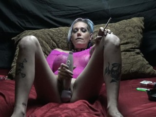 Chassidy Lynn - Smoking Masterbation 5