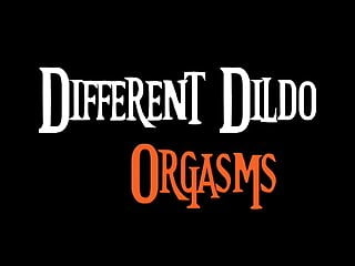 Different fake penis climaxes