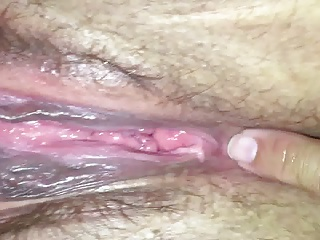 Wife's pussy, big clit and asshole