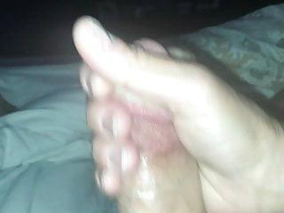 Wife Gives Thorough Morning Handjob With Cumshot