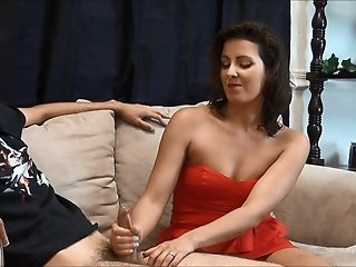NastyPlace.org - Aunt Gives Her Nephew Unforgettable Handjob