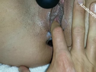 Yam-sized arse Latina nymphomaniac has numerous climaxS + arsefuck climax finishing in PAINAL