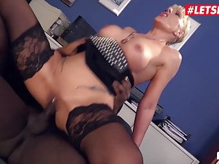 LETSDOEIT - very first Time When I attempt big black cock At Office ! Amazing !