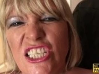"""Fat brit grandmother masturbating"""