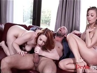 Hubby Brought Home His domina - BritneyAmber &amp_ EdynBlair