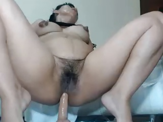 Horny mom rides your dick on POV webcam! (no sound)