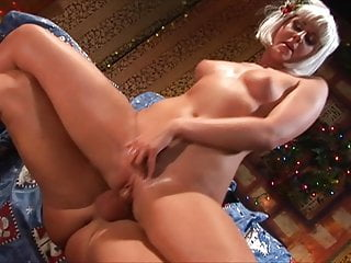 An Early Christmas Fuck with Big Tits Wife of Santa wife sex