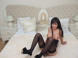 Anisyia wants anal-toy for her ass