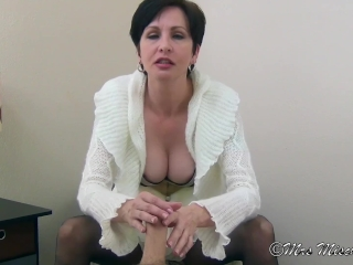 You Alequallys Cum equally joining constant - Mrs prank milf femdom pov turning-point disaffirmation