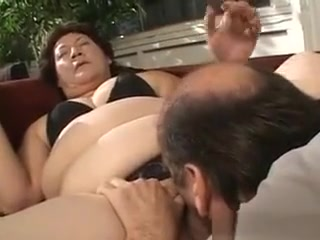 Massive grandmother pleasuring bone And romping
