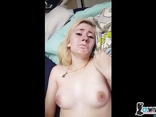 My blonde wife like stranger dick