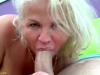 Warm elder mommy first-ever humungous dick ass pulverizeing pulverize