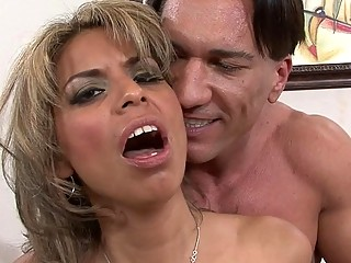 Husband watch how his wife sucking lovers dick