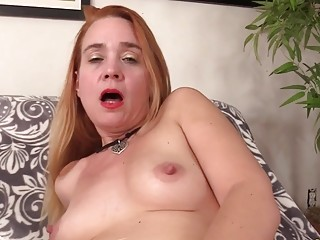 Mature red-haired Sable Renae ejaculates stiff After a Machine demolishes Her fuckbox