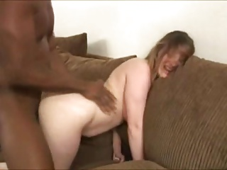 Screaming wife getting rammed by BBC