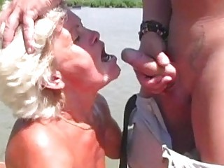 Outdoor oral domination