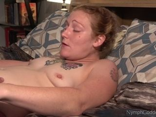 Red-haired cougar Ivy having numerous climaxes while her vag is ate