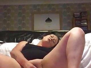 Bi-atch girlfriend wanking for me