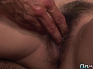 Wooly chinese Housewife successful Starr pummels a milky spunk-pump and Lets hotwife witness