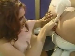 Insatiable lesbos featuring CHLOE & a big-chested Mature cougar