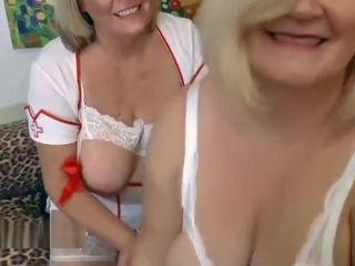 Crazy mature brit Nurses