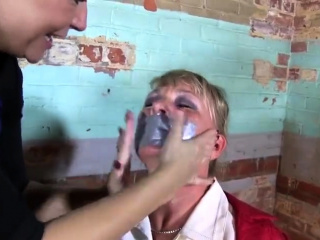 Incredible ash-blonde luvs fetish domination & submission games with a faux-cock