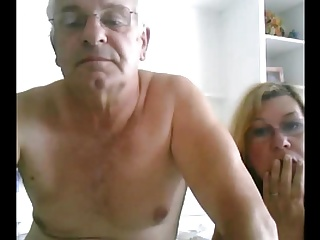 grandpa and grandma in bed