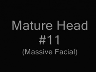 Mature Head 11 (Massive Facial)