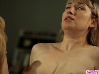 Lesbo nurse tribbing with fresh inmate
