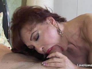 Kinky mother luvs to deepthroat and rail